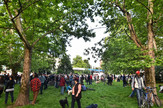 Novi Sad33 protest protiv rusenja parkica foto Nenad Mihajlovic