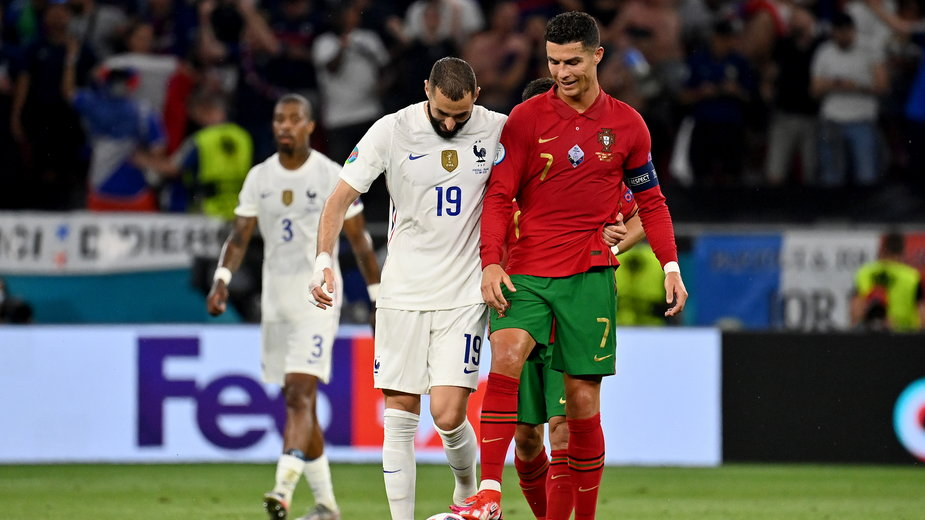 Karim Benzema i Cristiano Ronaldo