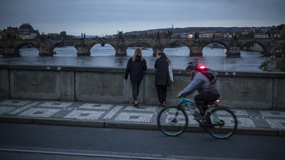 Praga w czasie epidemii