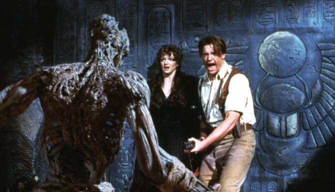 Brendan Frejzer u filmu Mumija