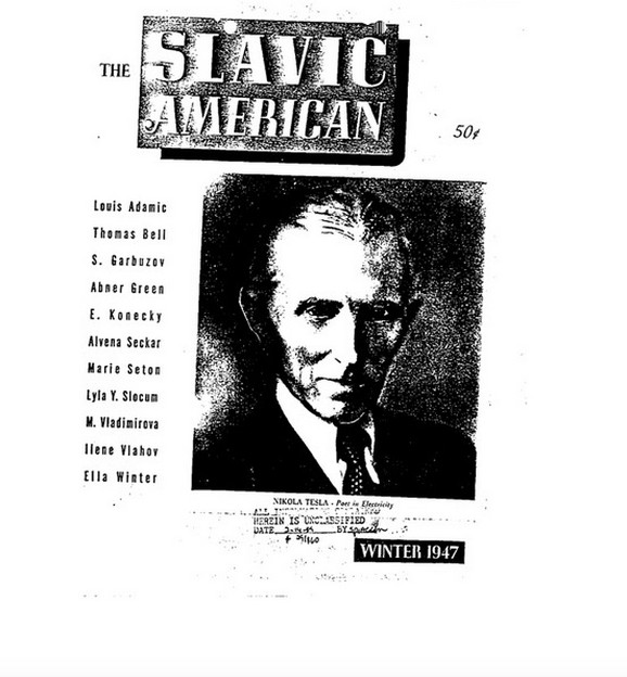 Dokumenta FBI-ja o Nikoli Tesli prvi je pročitao Džon Tramp