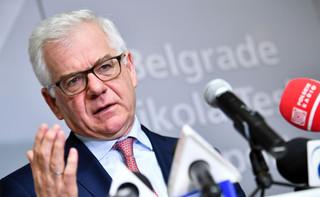 Czaputowicz: Przywrócenie zaufania w regionie powinno być priorytetem Rady Państw Morza Bałtyckiego