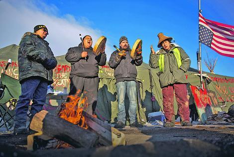"""Članovi pokreta """"Standing Rock"""""""