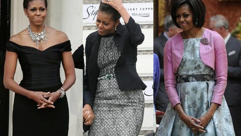 Michelle Obama w Europie: oto styl Pierwszej Damy