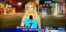 """Reporterka """"zaatakowana"""" przez karalucha. Musicie to zobaczyć"""