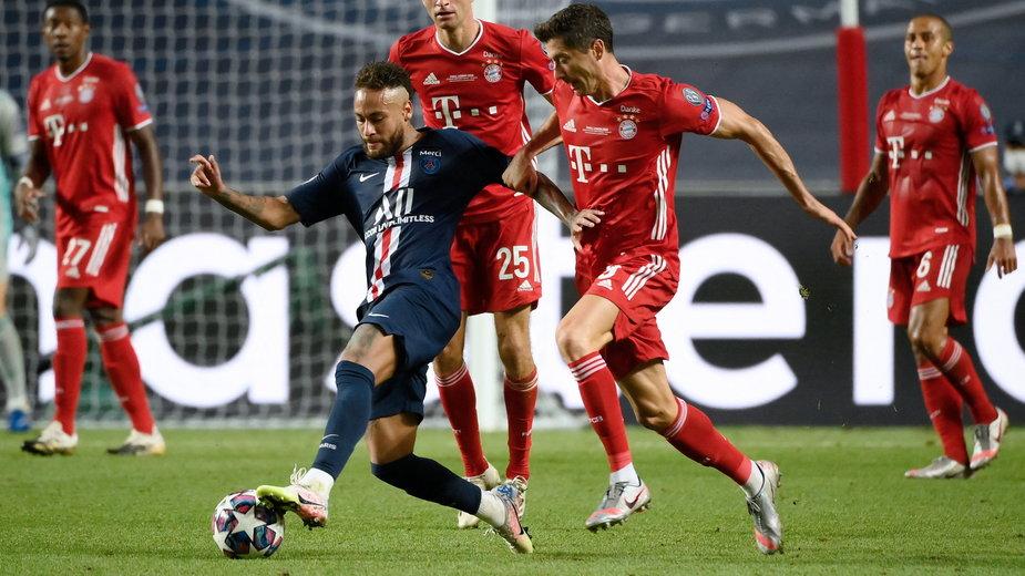Neymar vs. Robert Lewandowski w finale Ligi Mistrzów 19/20
