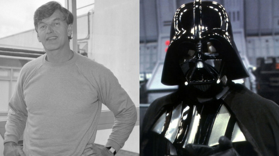 David Prowse prywatnie (Getty Images, fot. PA Images/Contributor) i jako Darh Vader