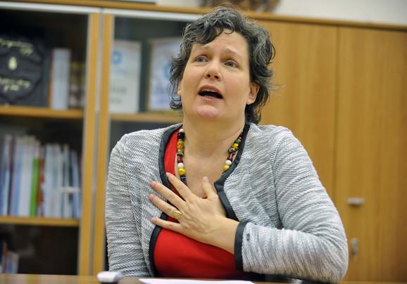 Kori Udovički, ministarka za državnu upravu