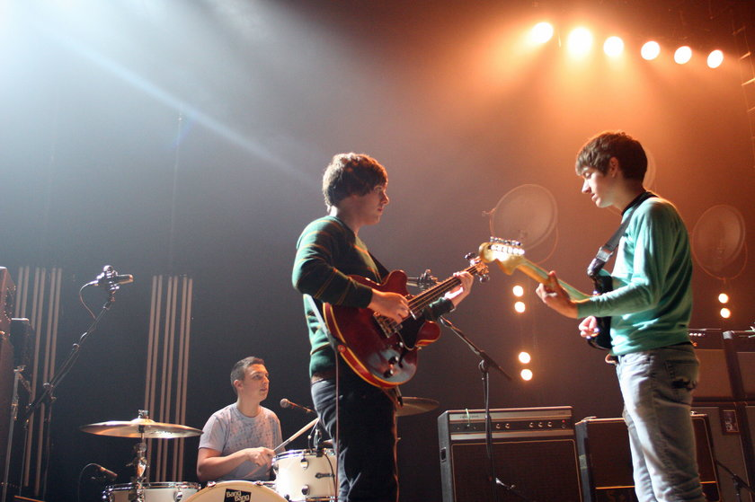 Arctic Monkeys na scenie