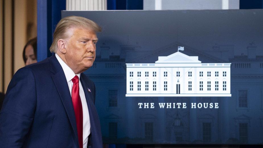 Donald Trump coraz bliżej przyznania się do porażki w wyborach