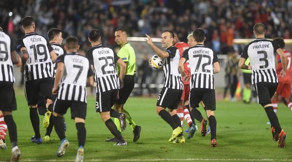 Natho na meču Partizan - Alkmar