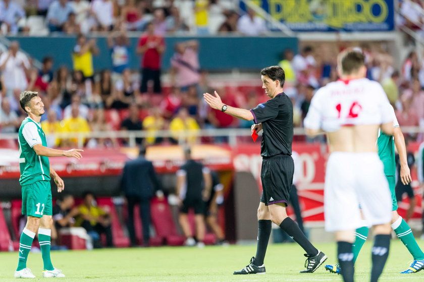 Mecz eliminacji do Ligi Europy Sevilla - Śląsk