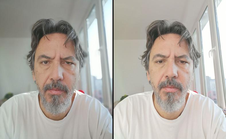 Zdjęcie wykonane telefonem Huawei Mate 20 Pro - selfie i tryb portretowy