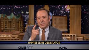 Kevin Spacey parodiuje Billa Clintona i Christophera Walkena u Jimmy'ego Fallona