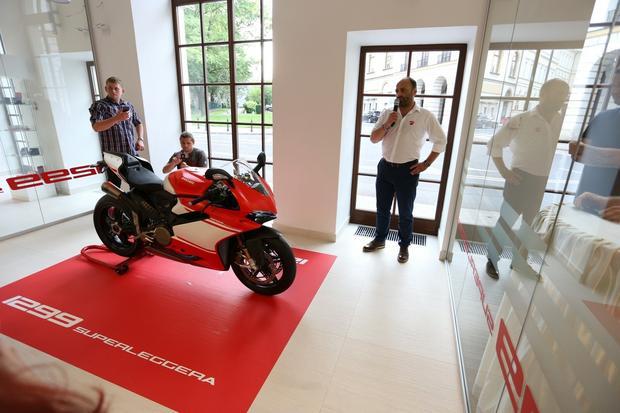 Ducati 1299 Superleggera zaprezentowana w Warszawie