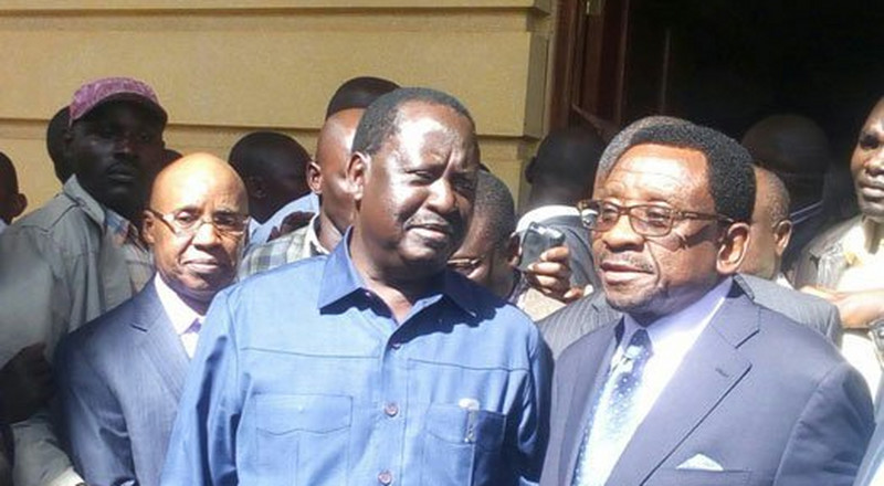 Orengo confirms cancellation of His & Raila's Visa by British Gov't