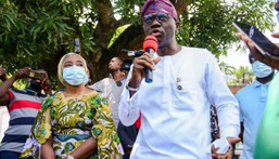 Governor Babajide Sanwo-Olu of Lagos State [Punch]