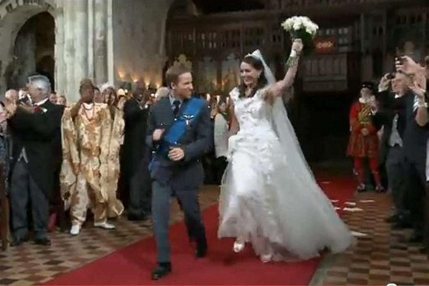 Parodiują ślub księcia Williama w kościele
