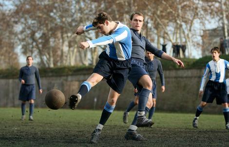 """Fudbal, nekada - Scena iz filma """"Montevideo, bog te video"""""""