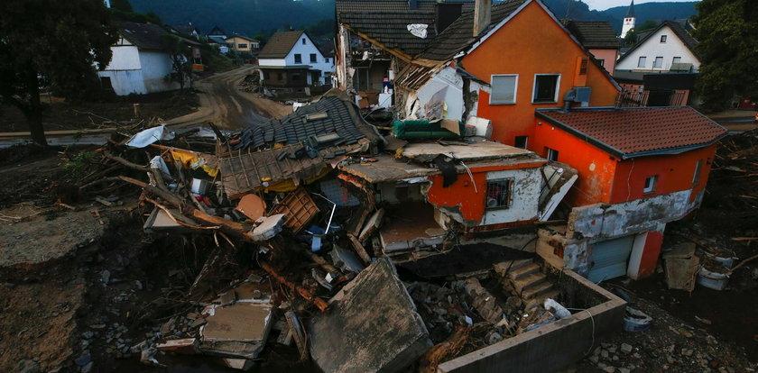Złe wieści o zaginionych w czasie powodzi. Wyznali to niemieccy ratownicy