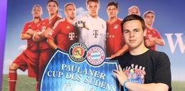 Polski bramkarz z B-klasy zagrał z wielkim Bayernem. Strzelili mu...
