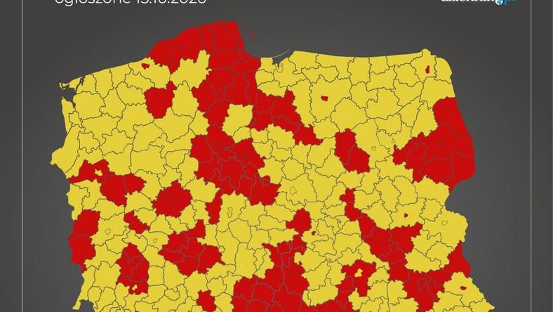 mapa strefyObszar roboczy 22