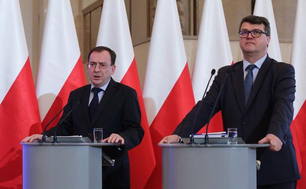 Mariusz Kamiński i Michał Wąsik
