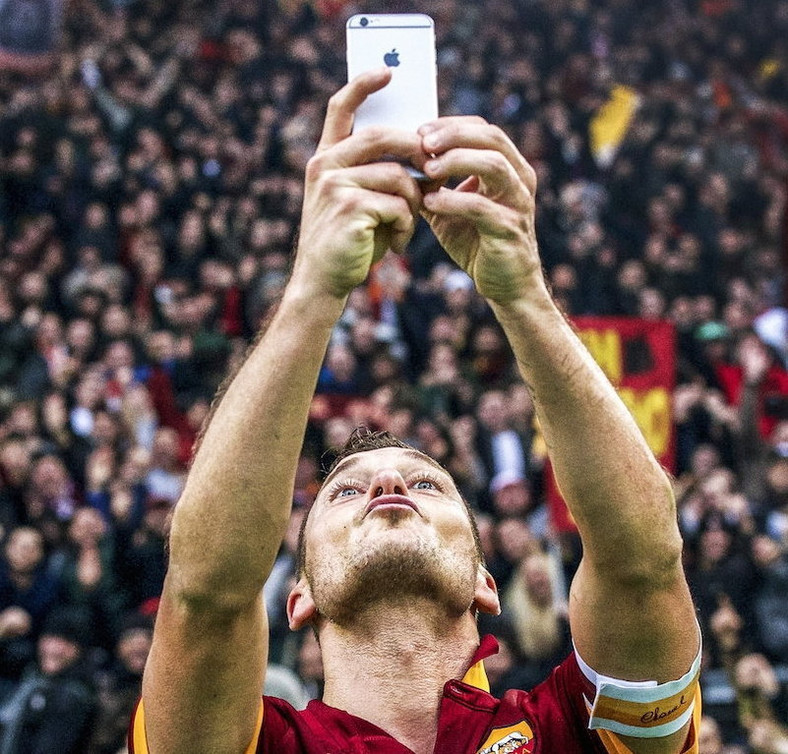 Francesco Totti, fot. VI Images via Getty Images