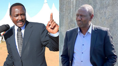 Kalonzo demands lifestyle audit of DP Ruto