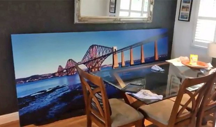 Deda slika mosta