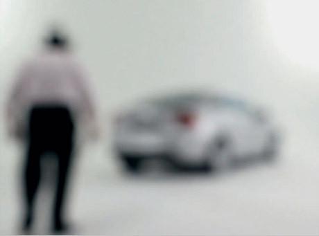 Tak niewidomy widzi tajny prototyp Volvo