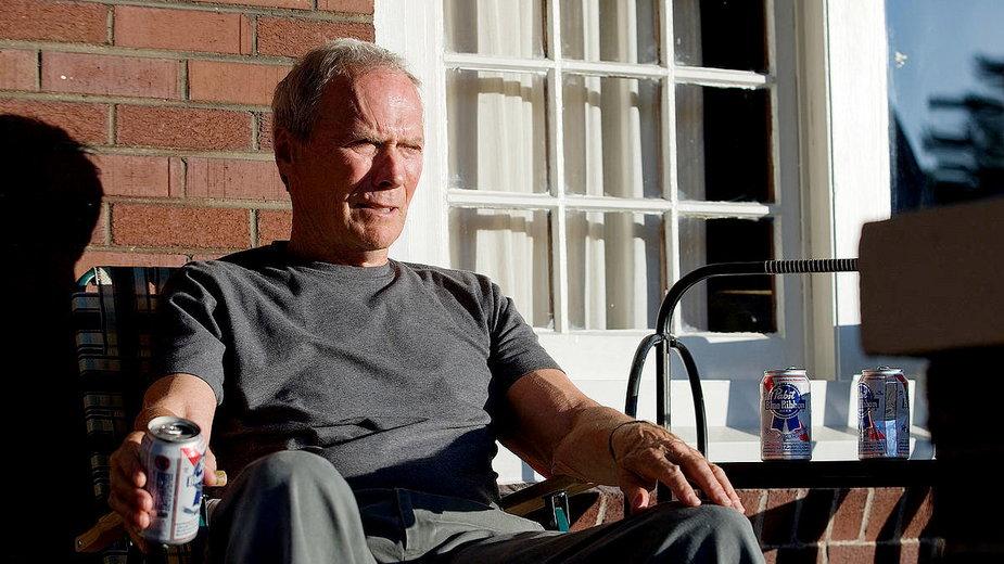 """Clint Eastwood w filmie """"Gran Torino"""""""
