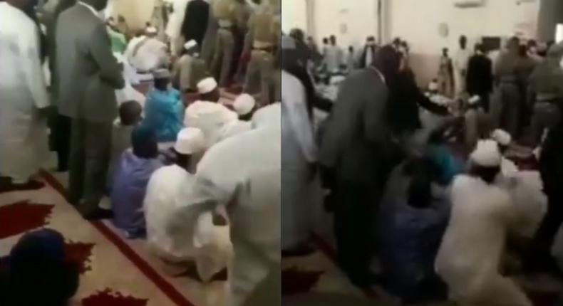 Mali's President was attacked with knife during Eid prayers