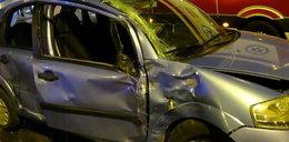 TIR staranował auta w Lublinie. To cud, że nikt nie zginął. FILM z wypadku