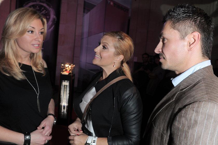 Tissot Katarzyna Skrzynecka z mężem