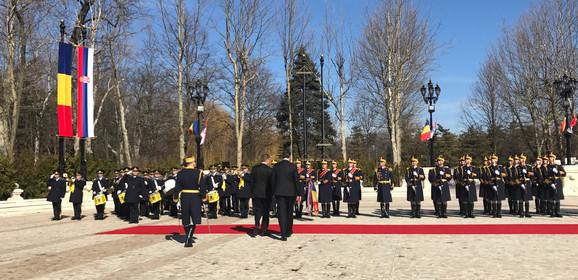 Vučić u zvaničnoj poseti Rumuniji