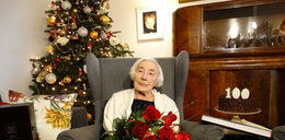 Pani Katarzyna skończyła sto lat. Jubilatce życzymy dużo zdrowia!