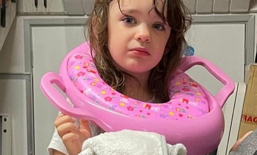 Trzyletnia Izabell