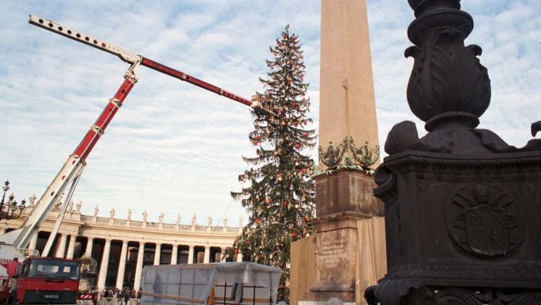 W 1997 roku stała w Watykanie 120-letnia choinka z Zakopanego