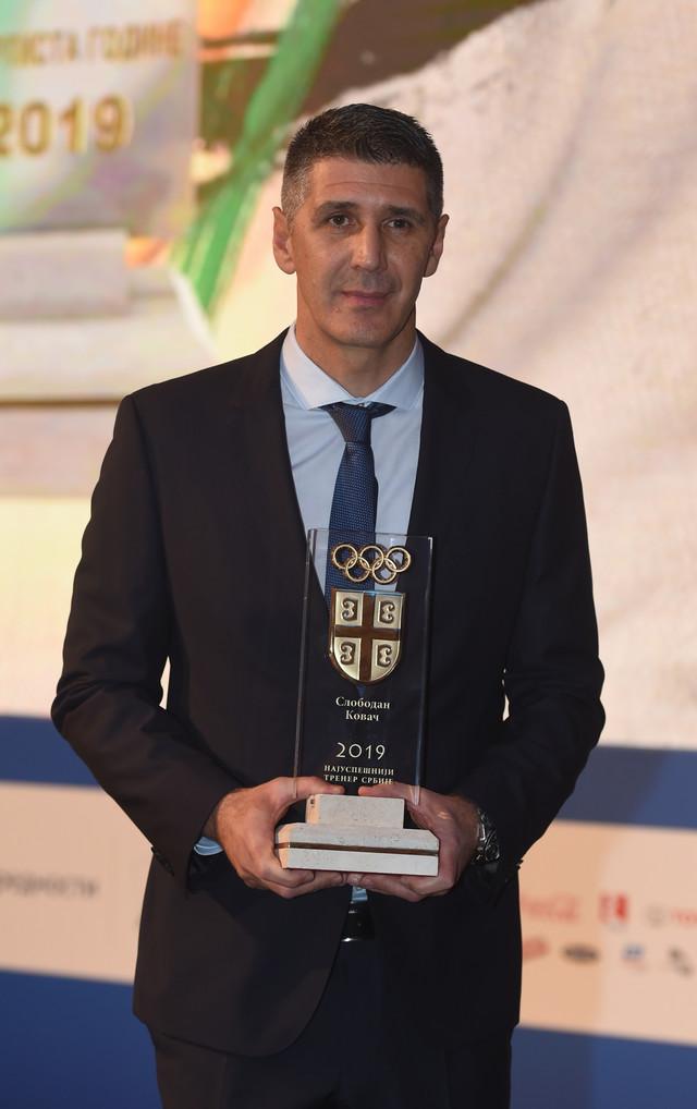 Slobodan Kovač je najbolji trener Srbije za 2019. godinu