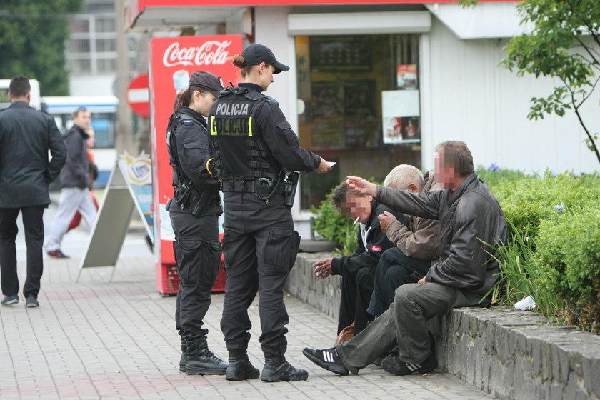 patrol policji w Gdyni