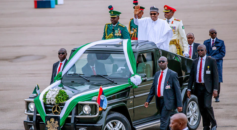 In pictures, Nigerian President Muhammadu Buhari's second term inauguration