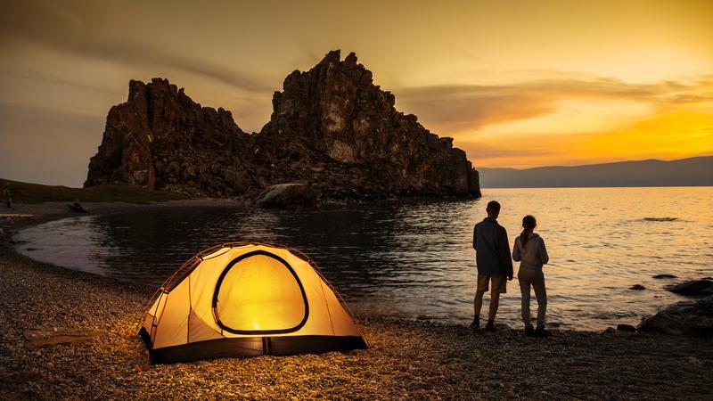 namiot przygoda morze