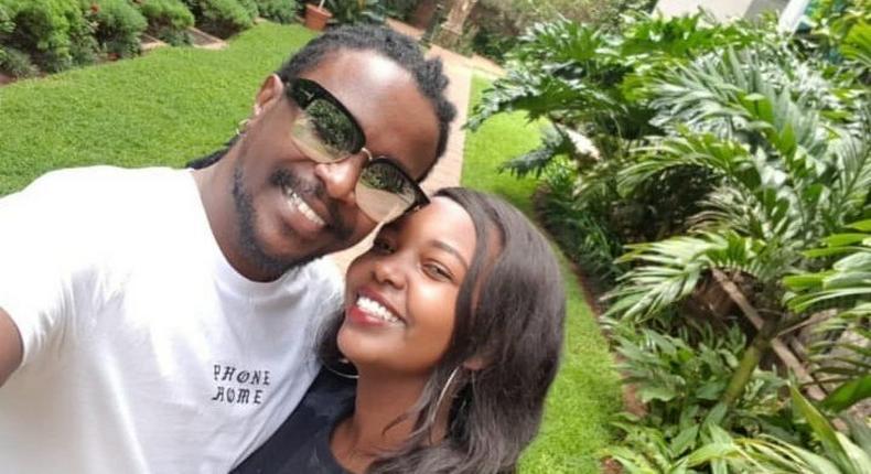 Nyashinski with his Girlfriend Zia Kibett. Meet the beautiful Girl dating Nyashinski