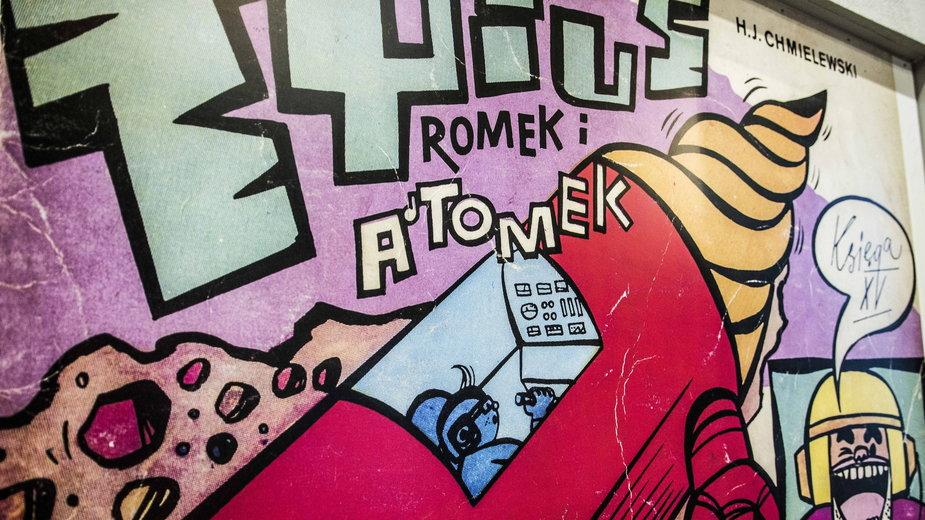 Wernisaż wystawy Tytus Romek i Atomek