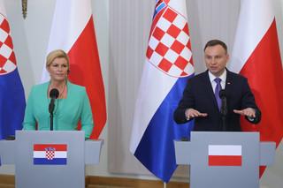 Prezydent: Liczę, że polsko-chorwackie porozumienia umożliwią stworzenie korytarza gazowego