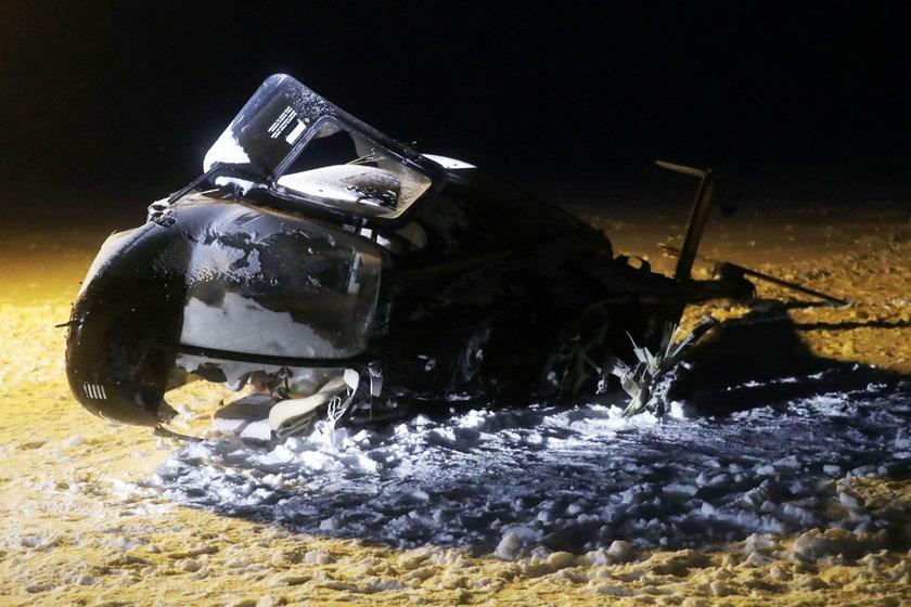 Katastrofa śmigłowca w pobliżu rosyjskiego Kazania