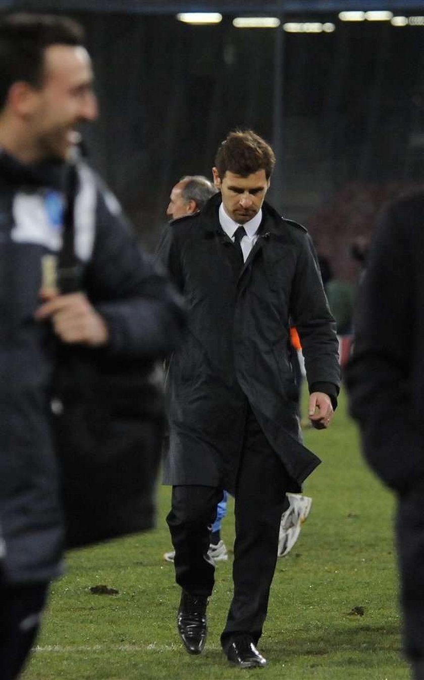 Andres Villas-Boas może stracić pracę
