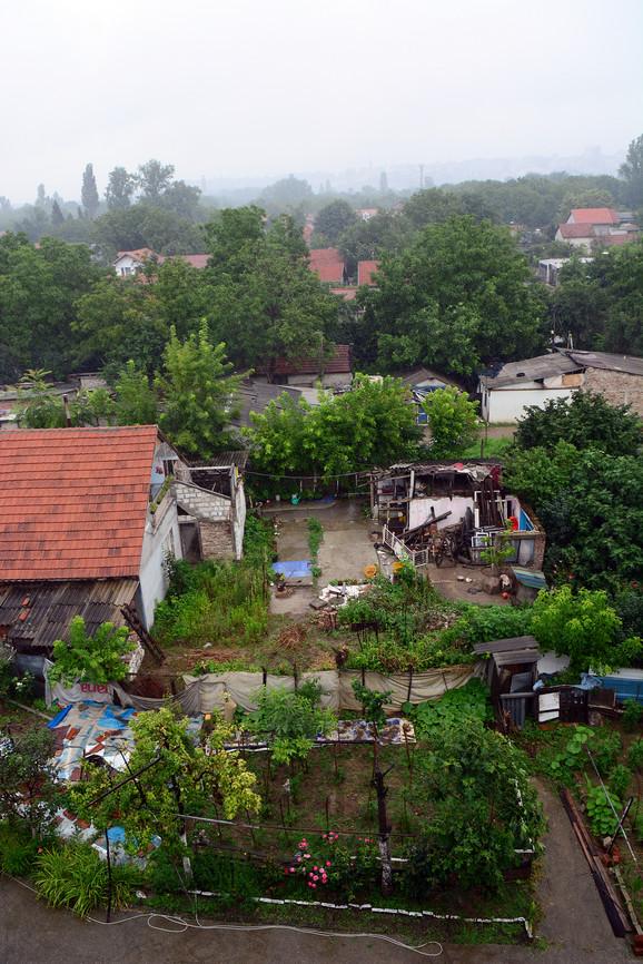 Pogled na deo naselja