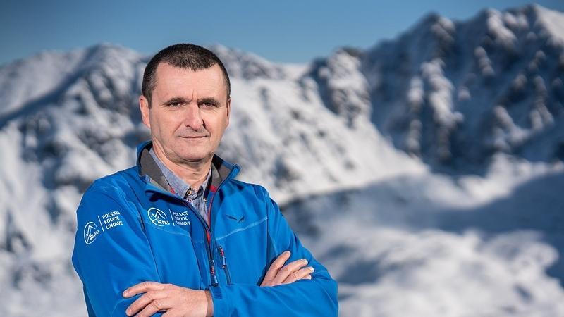 Prezes PKL Janusz Ryś